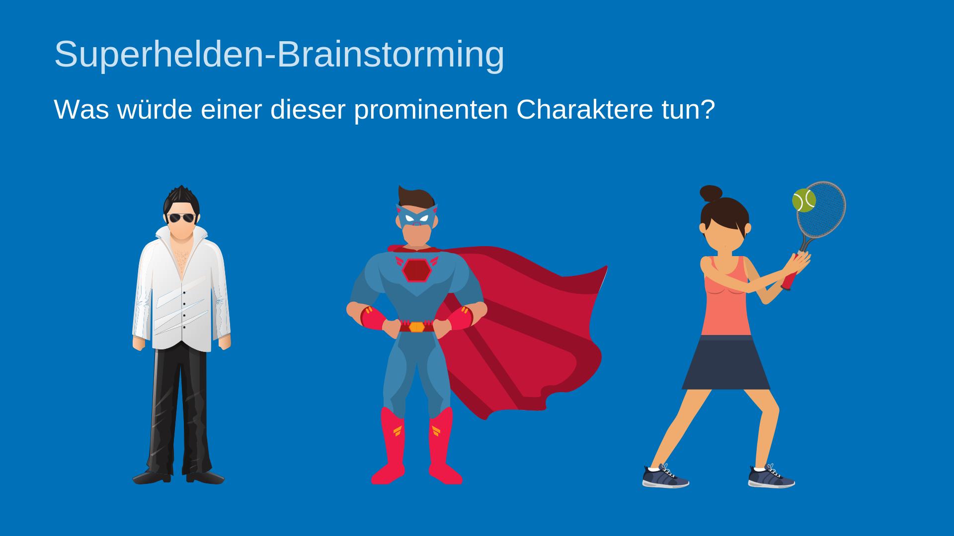 Superhero-Brainstorming