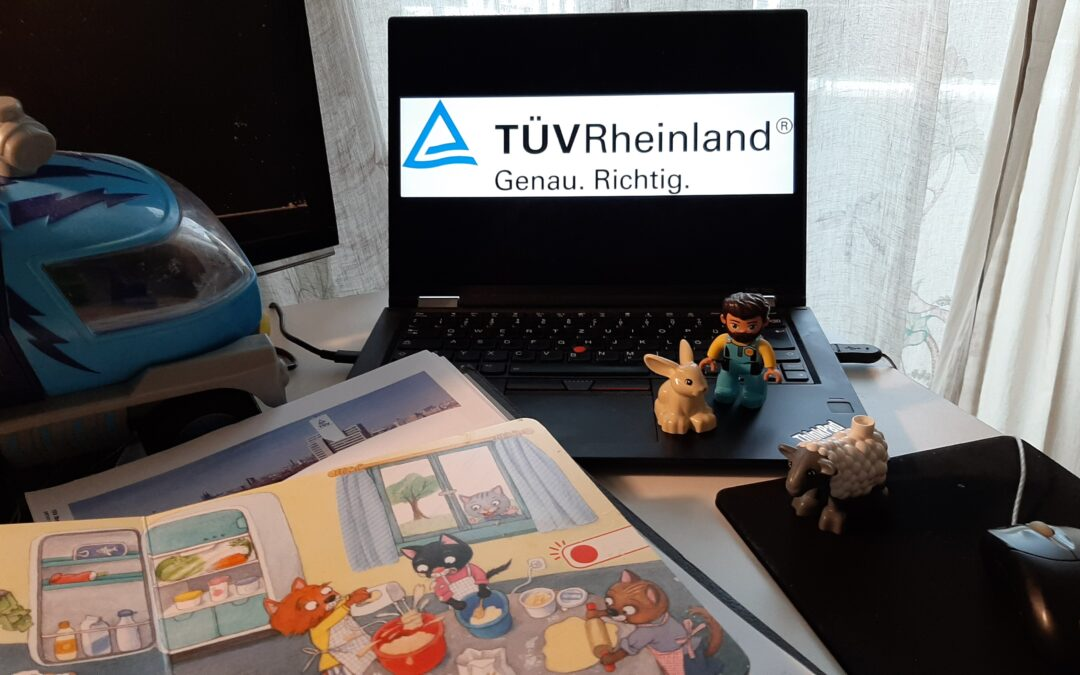 Newbie at TÜV and as a father – About modern fatherhood