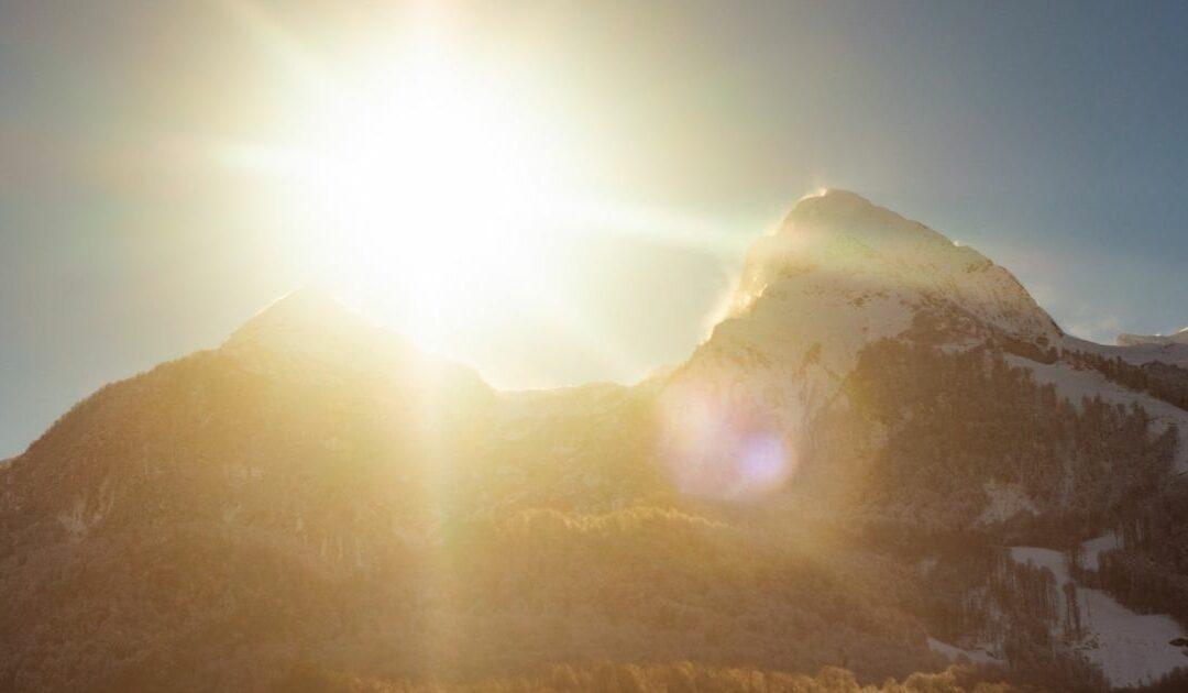 Nach der Talfahrt folgt das Bergfest