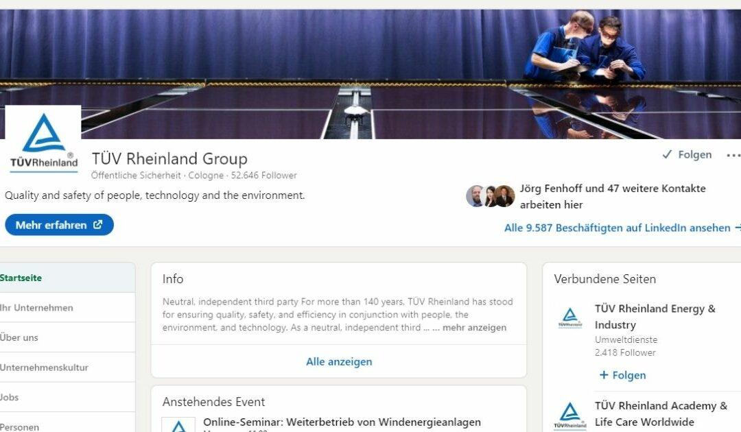 👍 for Social Recruiting – Companies on Social Media