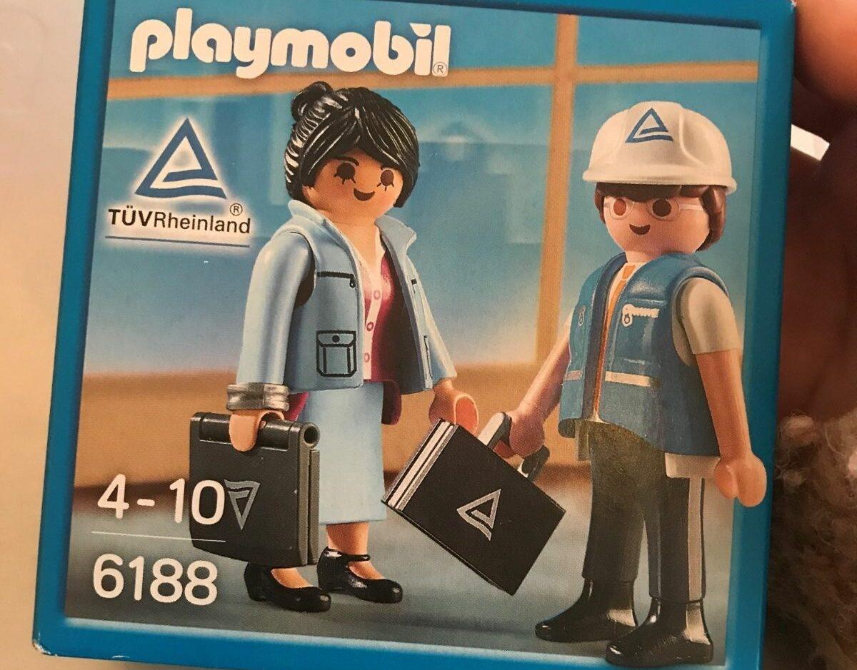 TÜV Rheinland Playmobilset