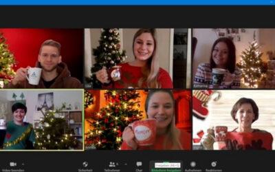Virtuelle Firmen-Weihnachtsfeier – Ideen fürs Programm