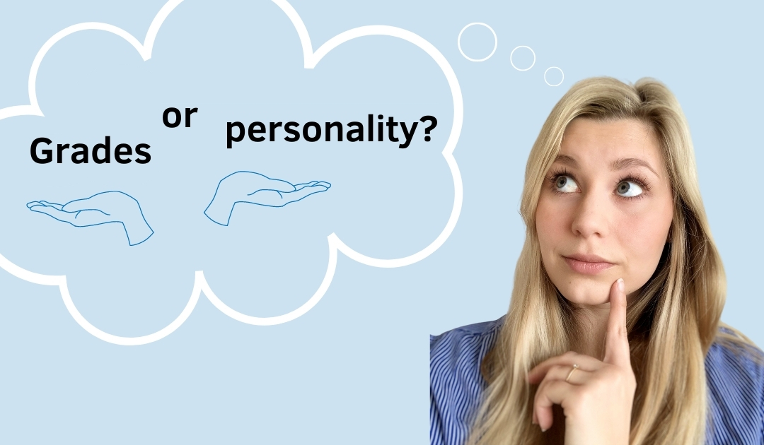 Grades vs. personality – what really counts