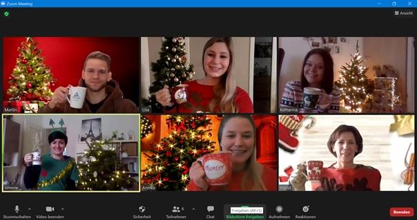Digitale Weihnachtsparty