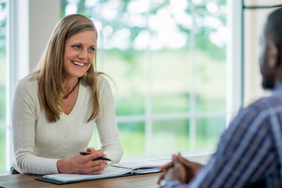 Bewerbungsgespräch mit Berufserfahrung